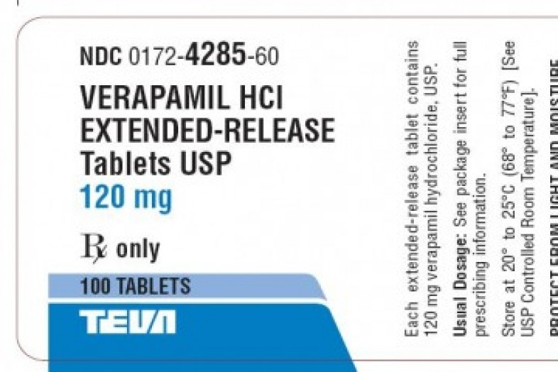 Verapamil 40-mg Immediate-Release Tablets